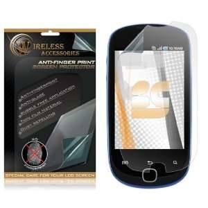 Anti Fingerprint Screen Protector Samsung T589 Gravity