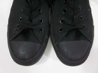 You are bidding on CONVERSE ALL STAR Mens Black Cap Toe Lace Up