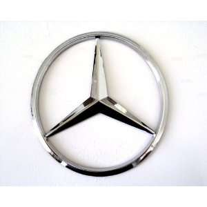 Mercedes Benz 3D Hood Trunk Chrome Emblem Badge AMG