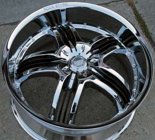 RVM 410 24 CHROME RIMS WHEELS CHEVROLET TRAILBLAZER