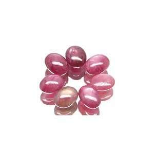 2 Pink Red Star Ruby Oval Unset Gemstone 6mm (Qty2) Arts