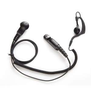G31 Ear Hook Lapel Microphone for Kenwood 2 Pin Radios Electronics
