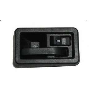 97 02 JEEP WRANGLER INSIDE DOOR HANDLE RIGHT BLACK