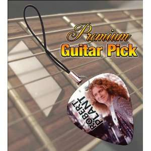 Robert Plant Premium Guitar Pick Phone Charm  Musical