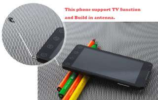 A7 Capacitive Android 2.3.6 Dual Sim touch TV Wifi GPS MT6573 3G
