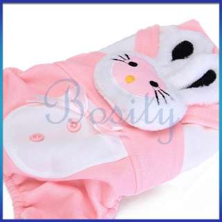 Pet Dog Cute Clothes Jumpsuit Hoodie Hooded Coat Jacket Apparel+