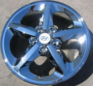 HYUNDAI SONATA OEM CHROME WHEELS RIMS 2006 2011   1 SINGLE RIM