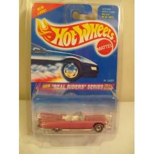 Rare 1995 Hot Wheels NEW Real Riders Series Pink 59 Caddy (Diecast
