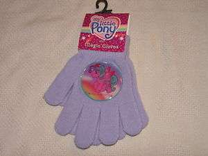 My Little Pony Purple Kids Magic Gloves Pair MIP