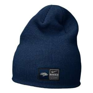 Nevada Wolf Pack Nike Navy Football Sideline Knit Hat