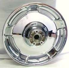 2010 2011 HARLEY STREET GLIDE CUSTOM FRONT CHROME WHEEL
