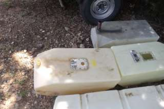 Plastic Boat Gas Fuel Cell Tank 25 Gallon Tank
