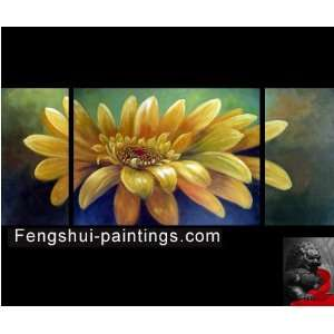 Abstract Art Sunflower Painting Feng Shui Oil Paintings