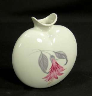 ANTIQUE ART DECO METZLER&ORTLOFF PORCELAIN WALL POCKET VASE FLOWER