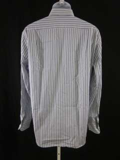 BOSS HUGO BOSS Mens Striped Button Down Shirt Sz 41 16