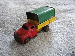Vintage Tin Metal Friction Truck Japan Chevy GMC 1950s