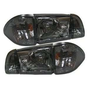 Ford Mustang Smoke Headlight 12 Piece Set Headlights Headlamps Driver