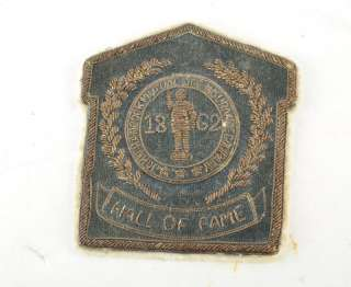 1862 Civil War Era John Hancock Co Bullion Crest Patch