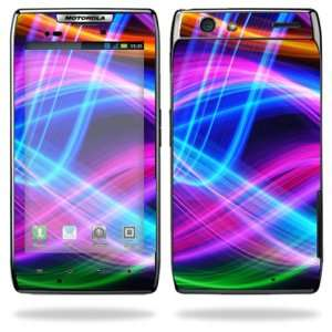 for Motorola Droid Razr Android Smart Cell Phone Skins   Light waves