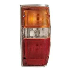 87 95 MITSUBISHI PICKUP Right Tail Light (W/ CHROME TRIM