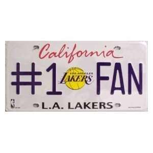 NBA National Basketball Association Los Angeles Lakers Car