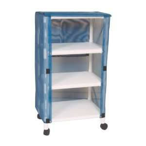 MJM International E325 3C Echo Linen Cart Health