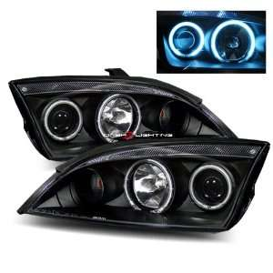 05 07 Ford Focus 4 Door CCFL Halo Projector Headlights