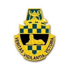 United States Army Intelligence Center and School Unit Crest Decal