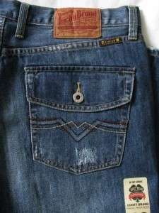 MENS Lucky Brand Vintage Straight Leg Lowrise Jeans 7MD1277 31 33 34