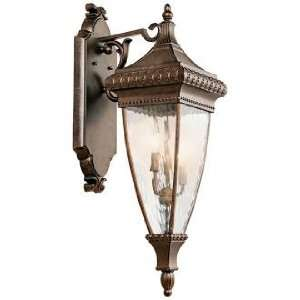 Venetian Rain Bronze 31 High Outdoor Wall Light