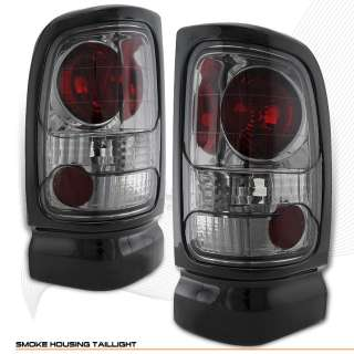 94 01 DODGE RAM 1500 2500 3500 SMOKE ALTEZZA TAIL LIGHT