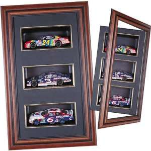 Caseworks Three 124 Diecast Cars Display Shadow Box