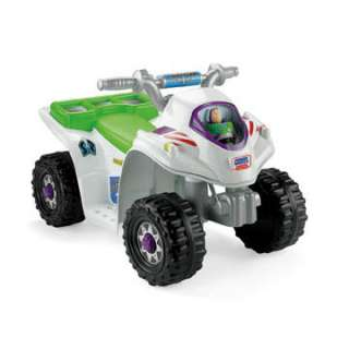 FISHER PRICE POWER WHEELS TOY STORY 3 LIL QUAD   New