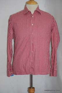 HUGO BOSS MEN SHIRT LONG SLEEVES SZ M ( MEDIUM ) #395