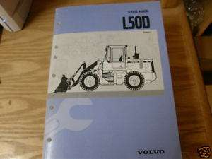 Volvo L50D Wheel Loader Service Manual