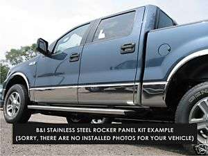 2004 2005 2006 2007 2008 FORD F150 CHROME ROCKER PANELS