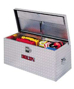 Delta Bright Aluminum 37 inch Chest Tool Box