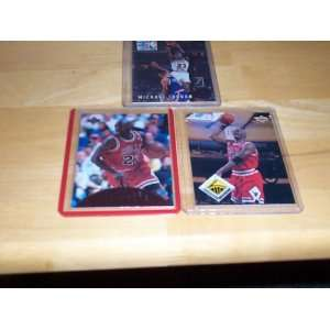 Michael Jordan lot of 3 cards 1993 Skybox #14, 97/98 upper deck Air
