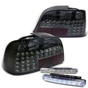 Eautolights 95 01 BMW E38 7 series LED Tail Lights+led