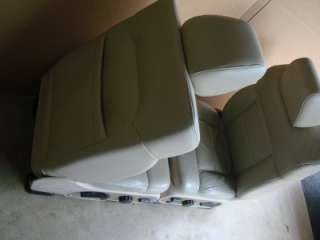 04 08 Ford F 150 F150 Leather bucket Seats seat POWERED HEATED MEMO