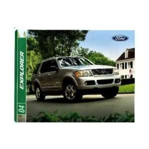2004 FORD EXPLORER Sales Brochure Literature Book