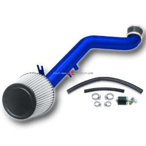 02 05 Honda Civic Si Cold Air Intake with Filter   Blue