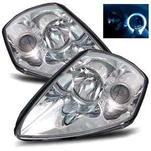 00 05 Mitsubishi Eclipse Chrome Projector Headlights