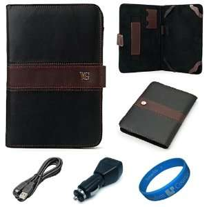 Edition Black Brown Executive Leather Folio Case Cover for Lenovo