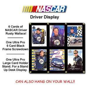 Various Brands Rusty Wallace 6 Card Lot