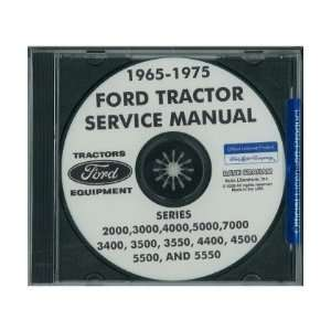 1965 1975 FORD TRACTOR 2000 7000 Service Manual CD