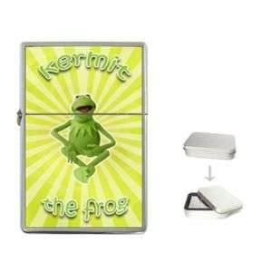 KERMIT The Frog Quality Flip Top Lighter + Case GIFT