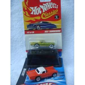 Hot Wheels 57 Thunderbird Variant Set Antifreeze Classic