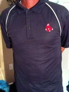 Boston Red Sox Polo Golf Shirt Boston Red Sox
