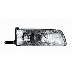90 93 Toyota Previa Van Headlight (Passenger Side) (1990